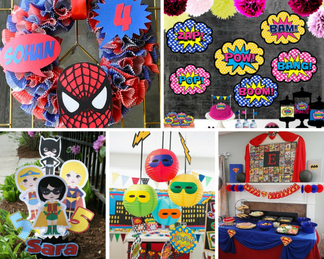 Superhero Party Ideas For Adults www.pixshark.com - Images Galleries ...