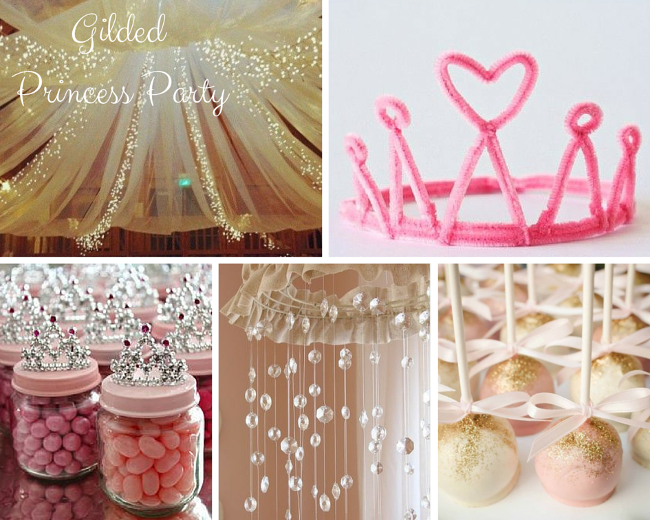 Princess party ideas girls party ideas at birthday in a box for Princess birthday party crafts