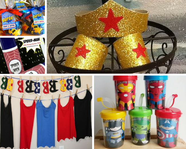 Superhero Party Ideas Birthday in a Box