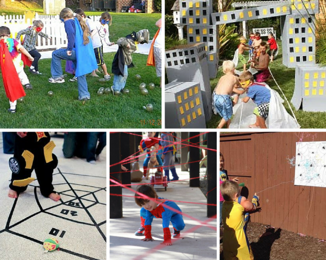 Superhero Party Games Ideas | www.pixshark.com - Images Galleries With A Bite!