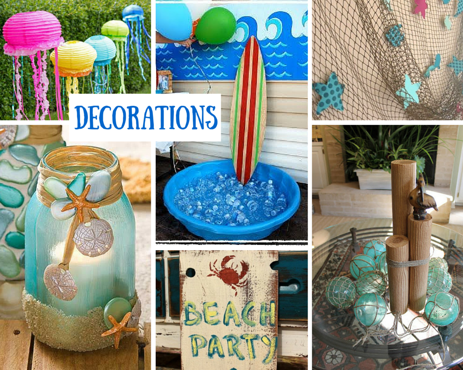 Beach party ideas for kids summer at