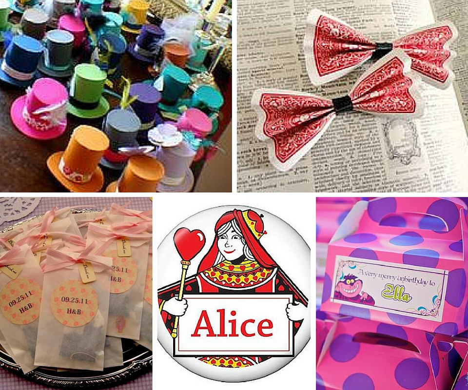 Alice in wonderland party ideas birthday in a box - Alice in wonderland tea party decorations ...