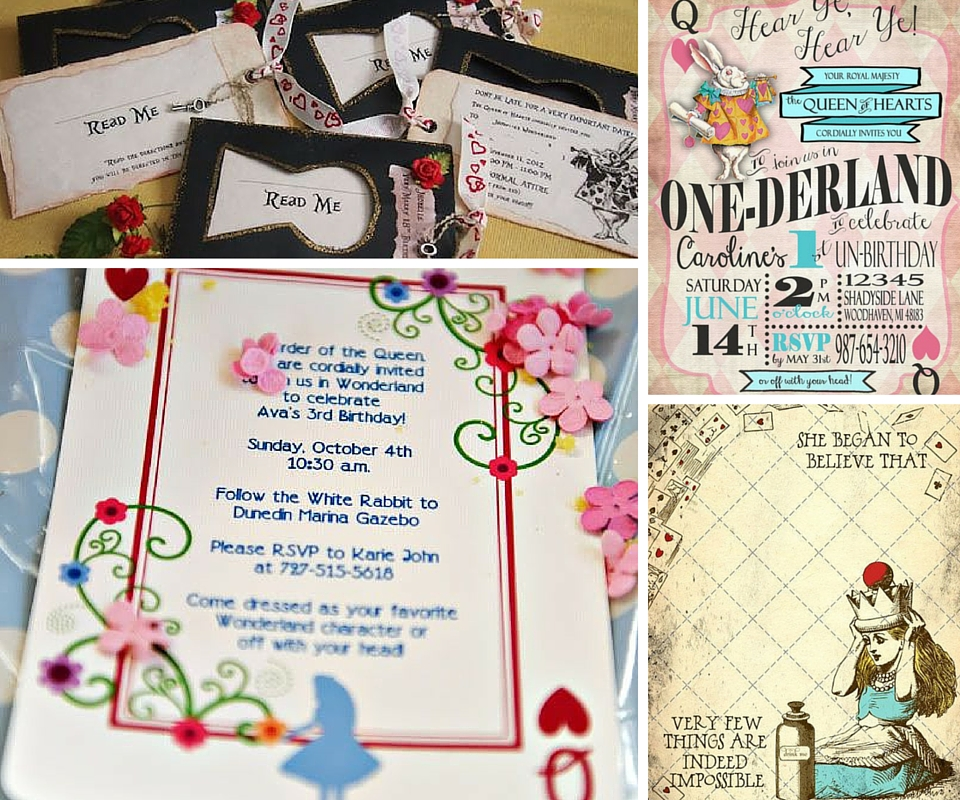 Alice In Wonderland Party Ideas Birthday A Box