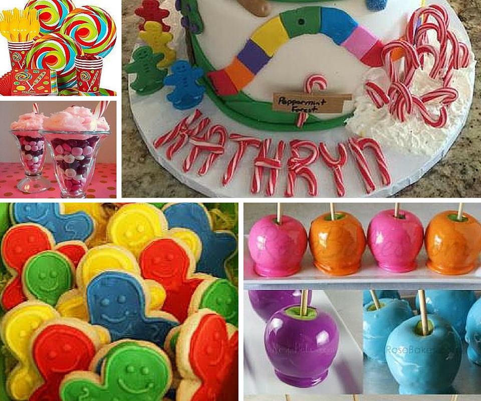 Candyland Party Ideas Kids At Birthday In A Box