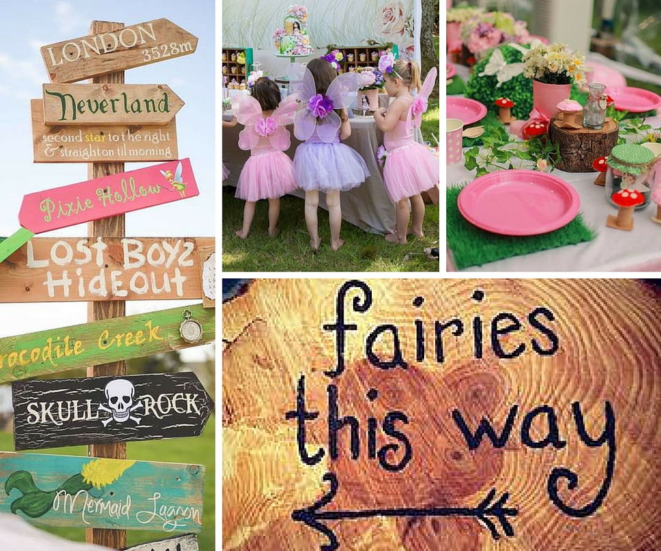Fairy party ideas girls party ideas at birthday in a box - Party decorations ideas ...