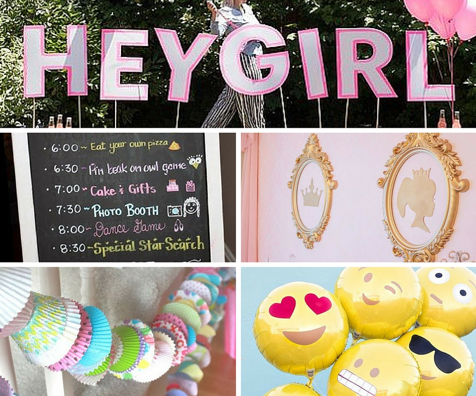 Girls party ideas party games for girls at birthday in a box Free home decorating games