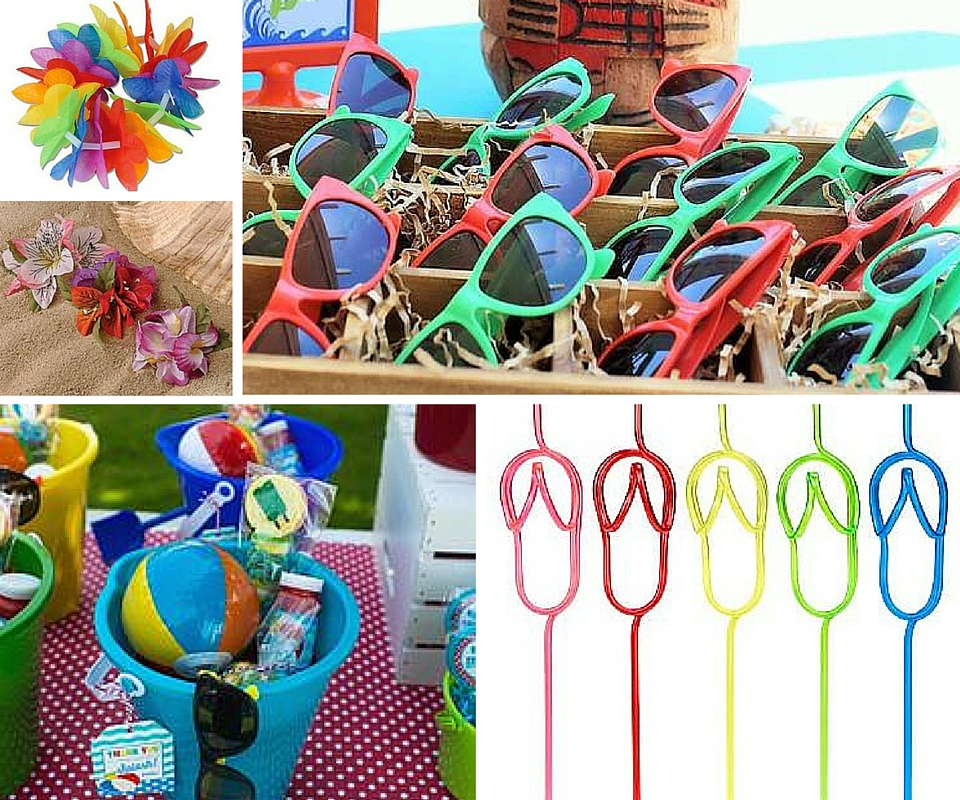 In Style Party Favors: Summer Party Ideas At Birthday In A Box