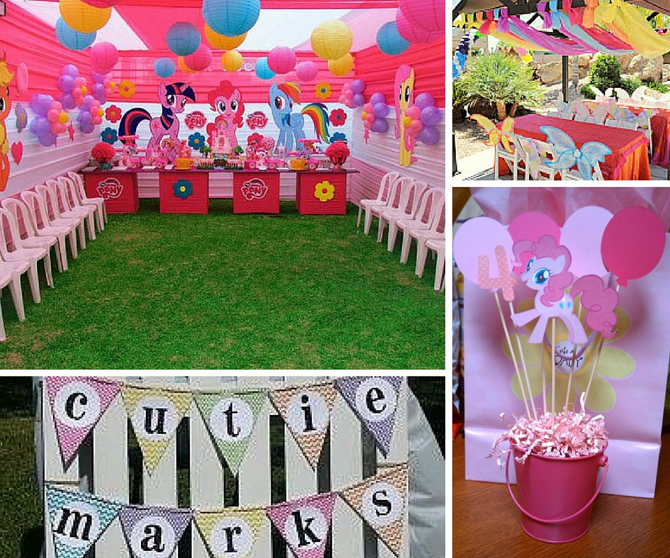 My Little Pony Party Ideas At Birthday