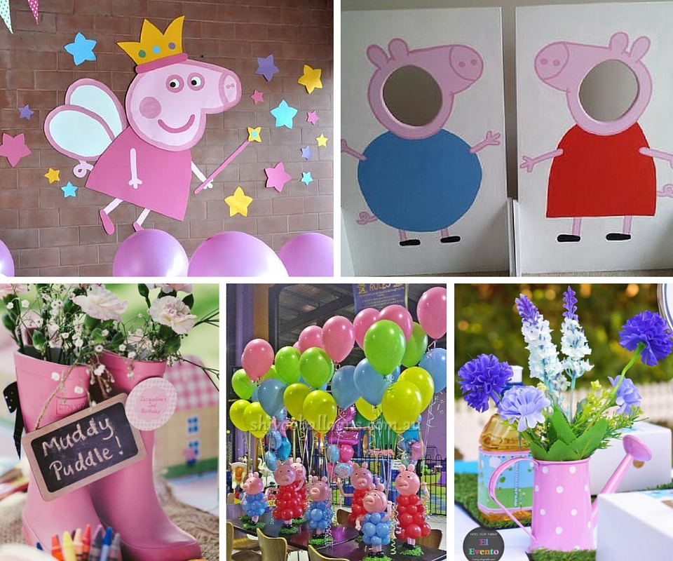 peppa pig party kids party ideas at birthday in a box
