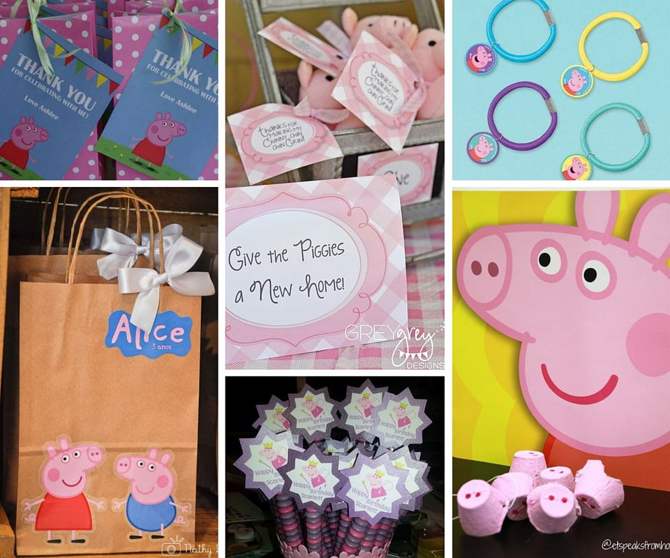 Peppa Pig Birthday Party Ideas Reference Your Party Decorations