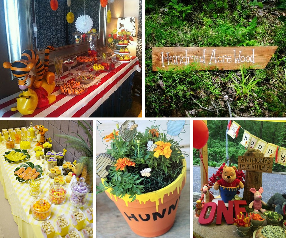 Pooh Party Ideas | Winnie the Pooh Party Ideas at Birthday ...