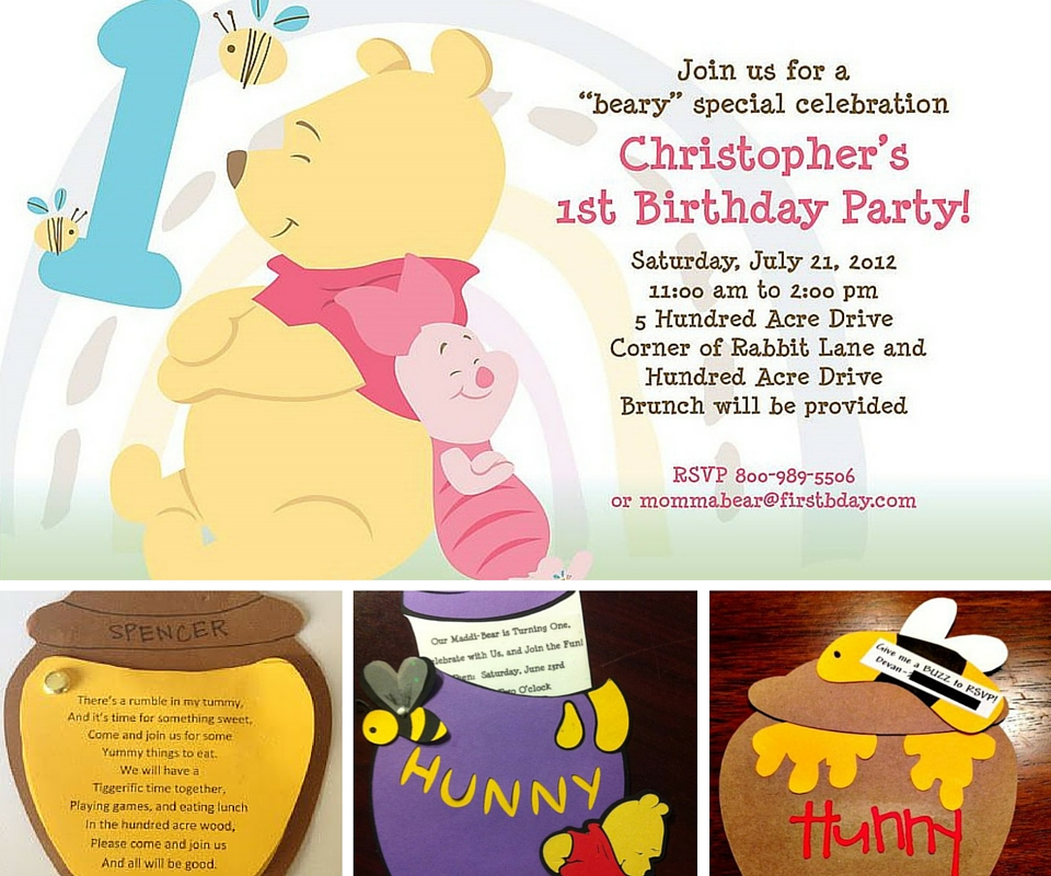 Pooh Party Ideas Winnie the Pooh Party Ideas at Birthday in a Box