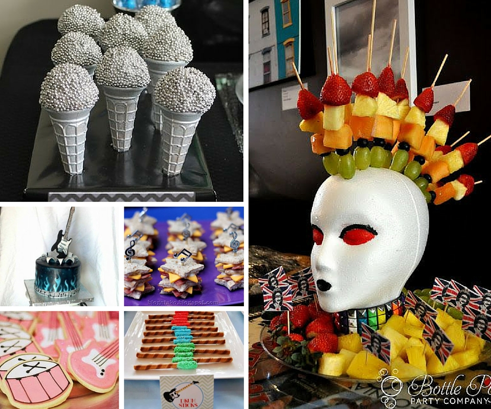 Rock And Roll Party Ideas At