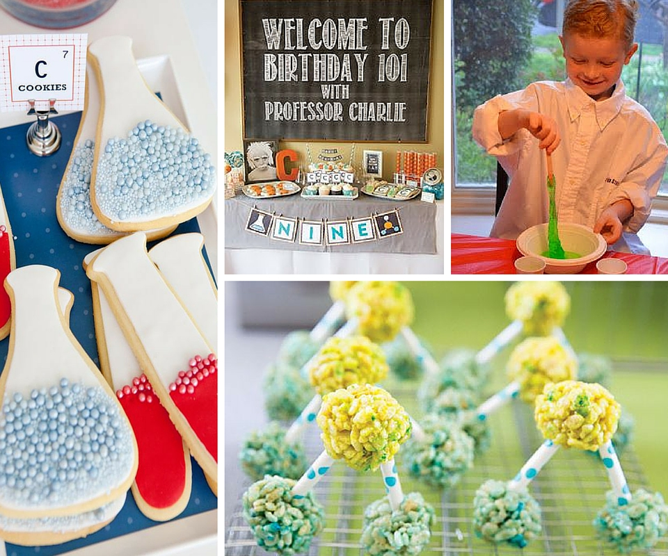 Science birthday party ideas kids party ideas at birthday in a box