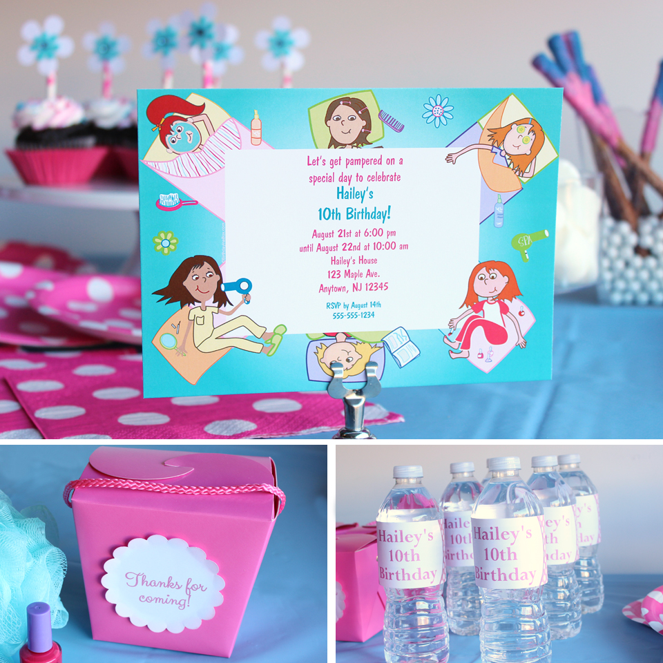 Spa Party Ideas Birthday In A Box