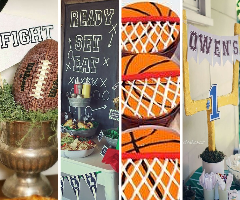 sports party ideas boys party ideas at birthday in a box
