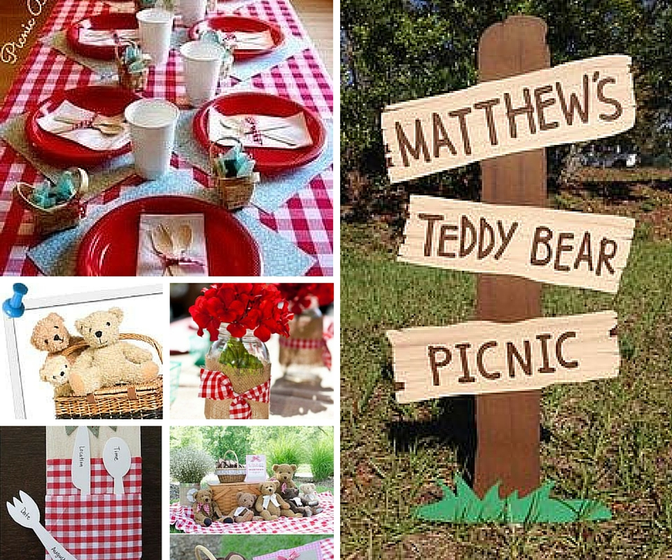 Teddy Bear Picnic Decor
