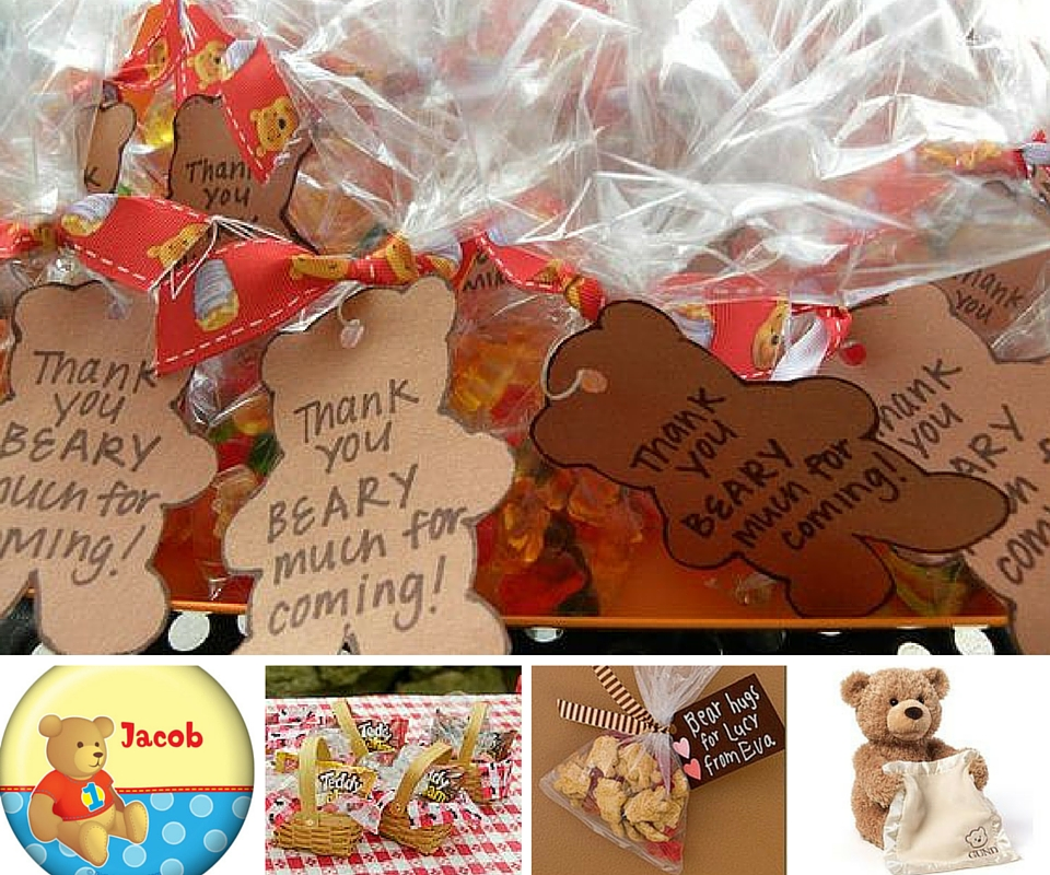 Teddy Bear Picnic Favors