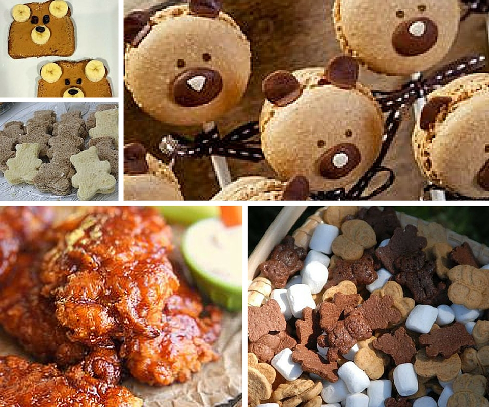 Teddy Bear Picnic Food