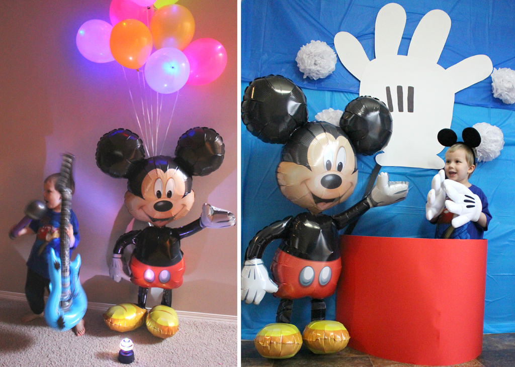 Mickey Mouse Party | Mickey\'s Clubhouse Party at Birthday in a Box