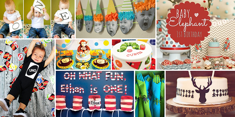 1st Birthday Decorations For Boy Image Inspiration of Cake and