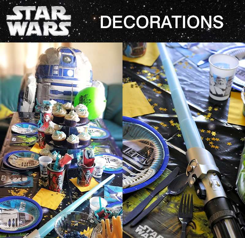 star wars party decoration ideas - Star Wars Decorations