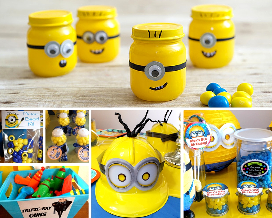 Minion Party Ideas Birthday In A Box Despicable Me Party
