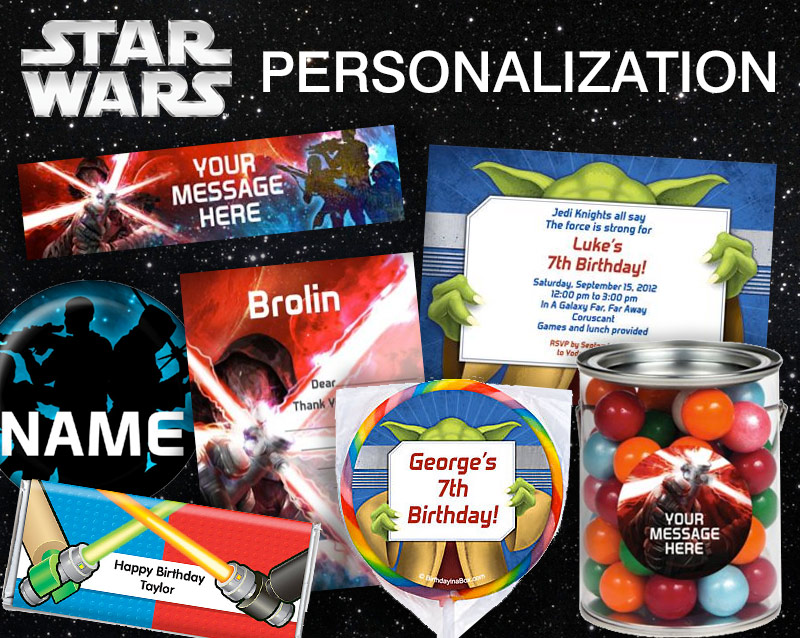 Star Wars Personalization