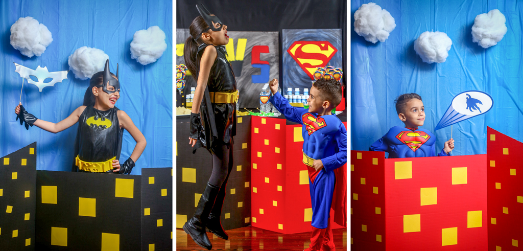 BATMAN VS SUPERMAN Photobooth