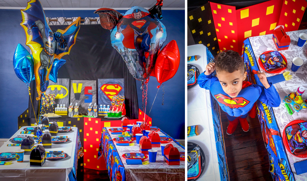 Batman v Superman Party Ideas