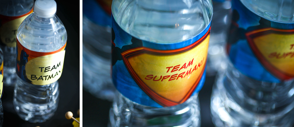 BATMAN VS SUPERMAN Water