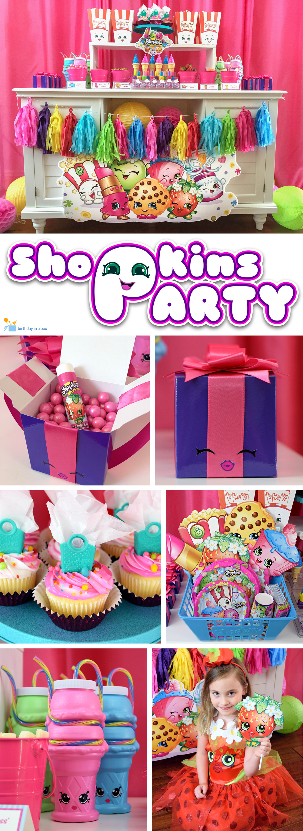Shopkins Party For you Pinterest Board