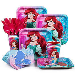 Ariel Little Mermaid Party Supplies