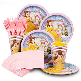 Belle Beauty and the Beast Party Supplies