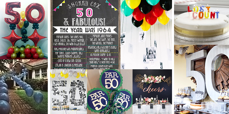 50th birthday party ideas for 50th birthday decoration ideas for women