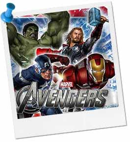 Avengers Party Theme Plate