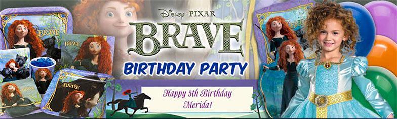 Disney's Brave Party Ideas Guide