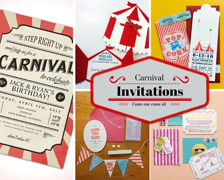 carnival party ideas circus party ideas at birthday in a box