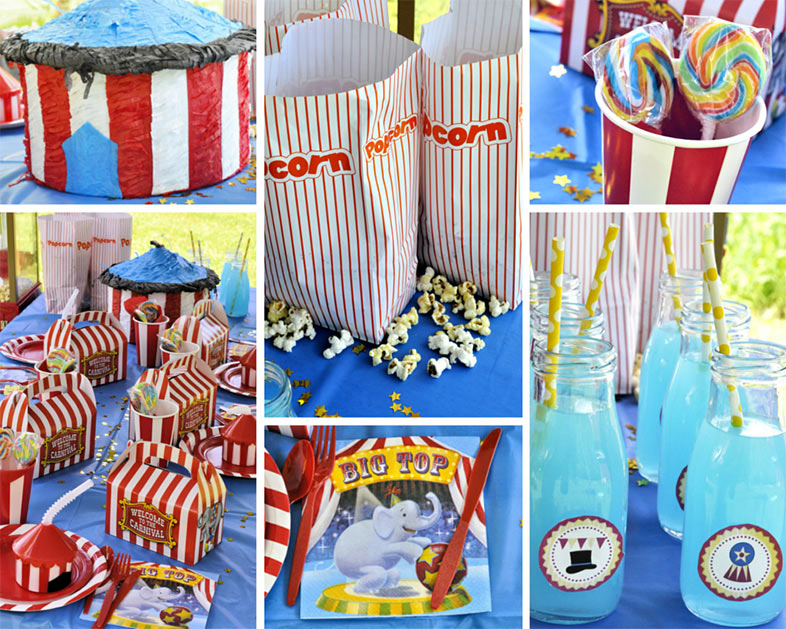 Carnival Party Ideas | Circus Party Ideas at Birthday in a Box