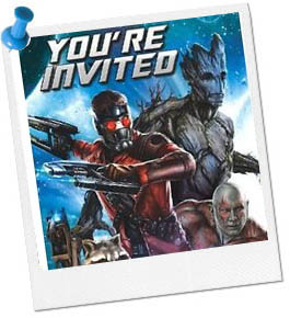 Guardians of the Galaxy Party