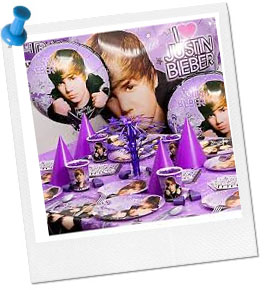 Justin Beiber Party Theme