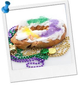 Photo of Kings Cake and Beads