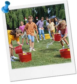 Watering Can Relay Race