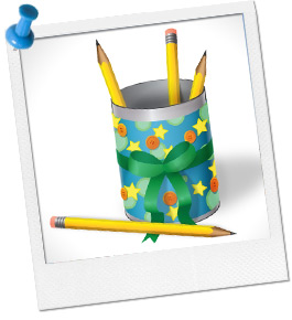Create a Pencil Holder