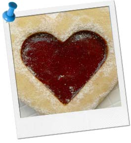 Linzer Heart Cookies