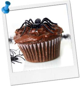 Creepy, Crawly Cupcake