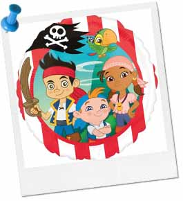Jake and the Never Land Pirates Hat Craft
