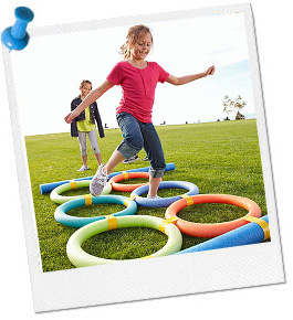 activities for an adult obstacle course