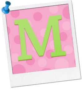 Image of a Monogram Letter M