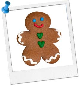 I'm the Gingerbread Man!
